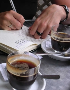 Journal_writing_coffee_journal_mills